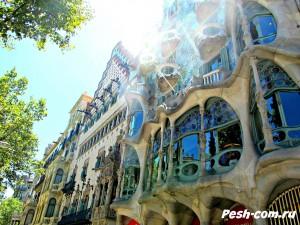 Барселона, Дом Бальо, барселона самостоятельно, барселона ком