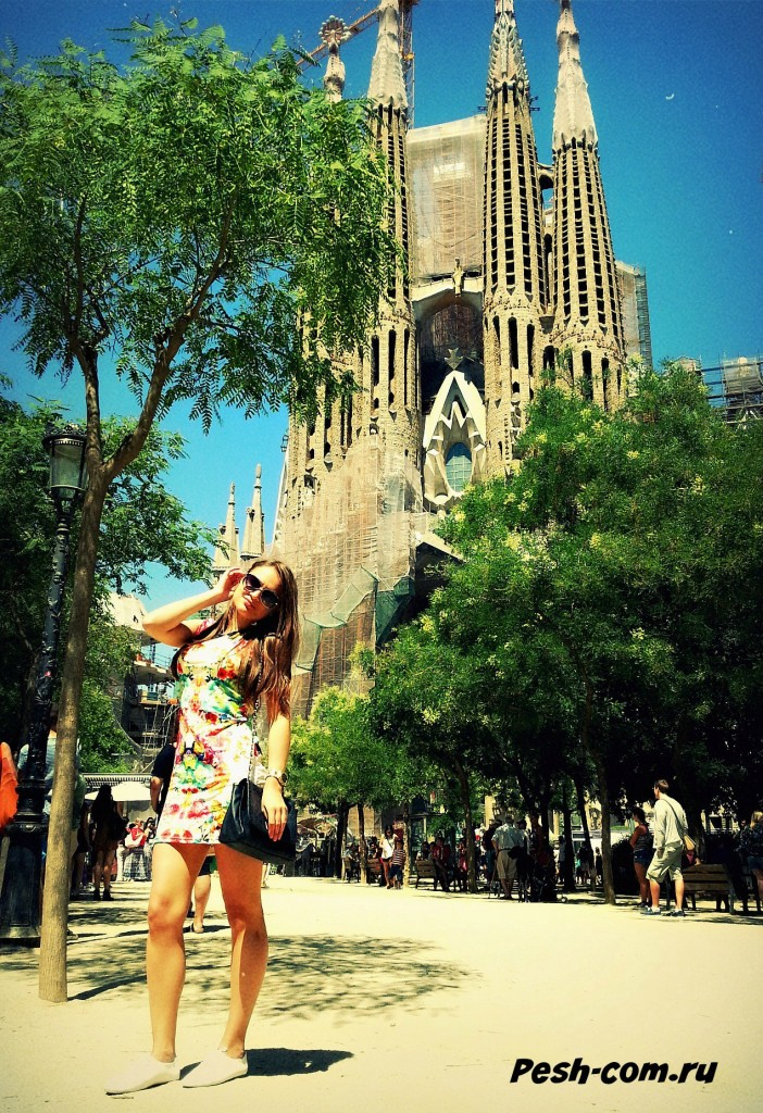Барселона, Саграда Фамилия, барселона самостоятельно, барселона ком