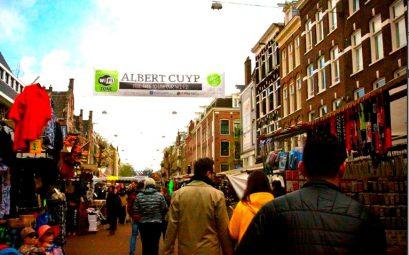 albert cuypmarkt - блошиный рынок Амстердама